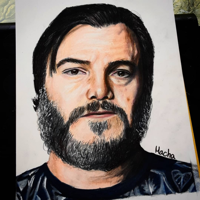 Jack Black by Macha